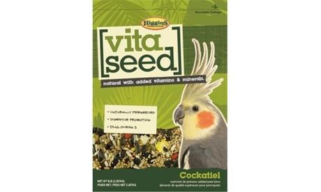 Higgins Pet Food HS21015 Vita Seed For Cockatiel - 5 lbs.