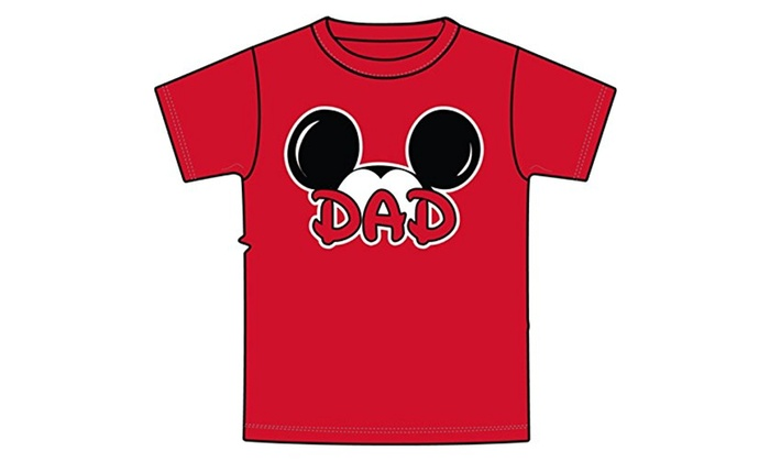 c46d90856 Up To 48% Off on Disney Men's Mickey Mouse Dad... | Groupon Goods
