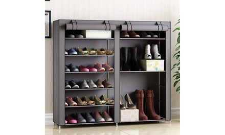 Non-woven Fabric Shoe Rack Storage Organizer