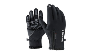 Antiskid Thermal Outdoor Gloves Waterproof Windproof Gloves for Men and Women