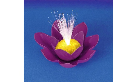 "7"" Purple B/O Fiber Optic Floating Lily Flower Swimming Pool Light 3f44e5b0-d4a8-4ada-888a-a8ca87473e44"