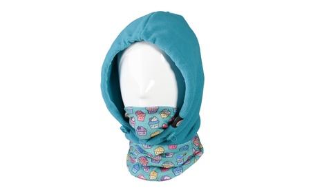 4 in 1 Kids Face Cover Hood Mask Balaclava Hat Face Mask Neck Warmer 3d82f2f3-d0da-4fda-8872-ee65f7bea227