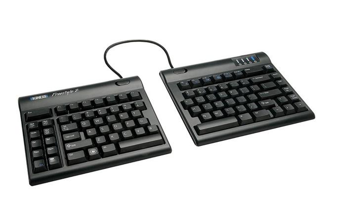92e9ff5354f Kinesis Freestyle2 Ergonomic Keyboard for PC (9