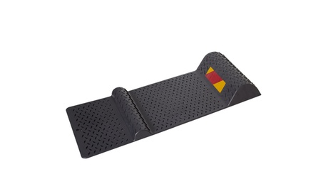 Parking Stop Mat Guide for Garage Auto Park Assist with Safety Reflector Aid 8c6df624-9486-40c0-9b82-d1cb38921ffd