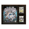 "NFL 12""x15"" Miami Dolphins All-Time Great Photo Plaque"
