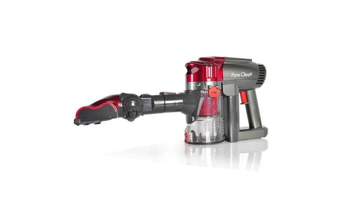 Pure Clean Handheld Cordless Cyclone Vacuum Cleaner | Groupon