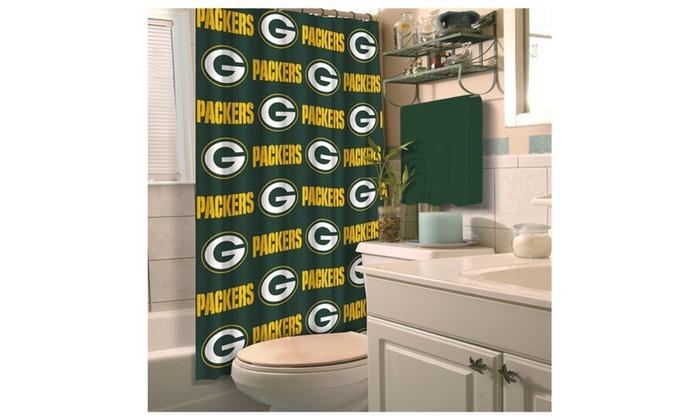 NFL Shower Curtains