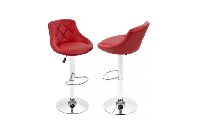 Surprising Air Lift Adjustable Swivel Bar Stools With Seat Back Pad Short Links Chair Design For Home Short Linksinfo
