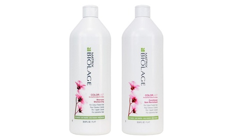 Biolage Colorlast Shampoo & Conditioner Liters
