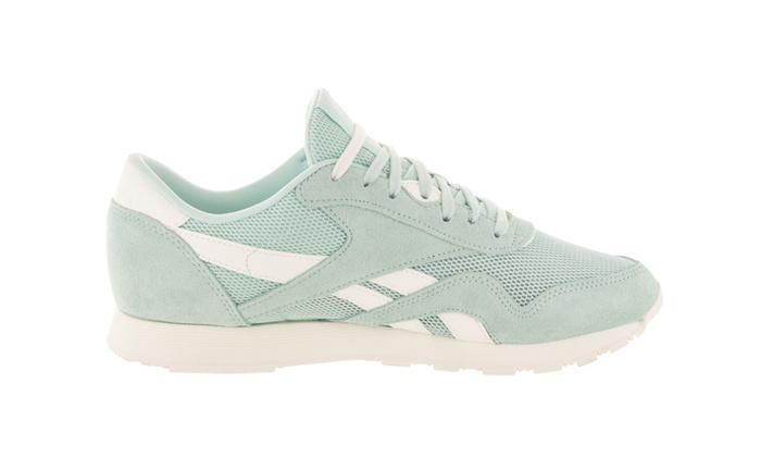 aad28651c35ec4 ... Reebok Women s Classic Nylon Mesh M Casual Shoe