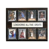 "NCAA Football 12""x15"" Texas Longhorns All-Time Greats Plaque"