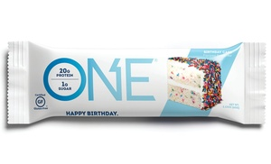 Up To 54 Off On ONE Protein Bar Birthday Cak