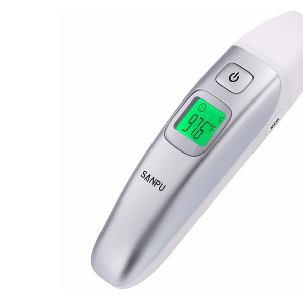 Kids Adults Fever SANPU Digital Medical Infrared Forehead Ear Thermometer Baby