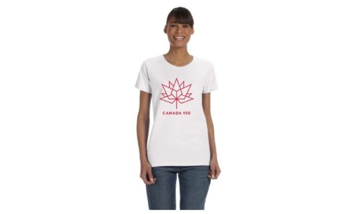 Licensed Canada 150 logo t-shirt