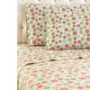 Micro Flannel Cal King  Printed Sheet Set