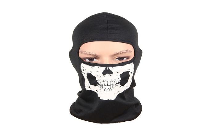 Skull Skeleton Face Mask &  Full Face Masks