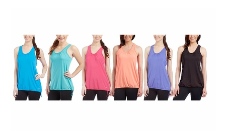 Women's Activewear Solid Bungee Tank Top 95c5dd7b-971e-4daf-b847-2f74bcabe425