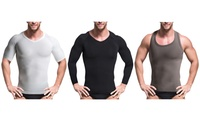 Men's Compression and Core-Support Shirt Collection