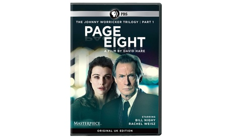 Masterpiece: Worricker: Page Eight DVD (U.K. Edition) fa6f1fdc-466d-4b7f-8a16-94c3443f918e