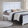 Baxton Studio Amber Colonial Revival Mantel-Style Platform Bed