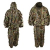 LYGLO Mens 3D Lightweight Hooded Camouflage Ghillie Hunting Suits