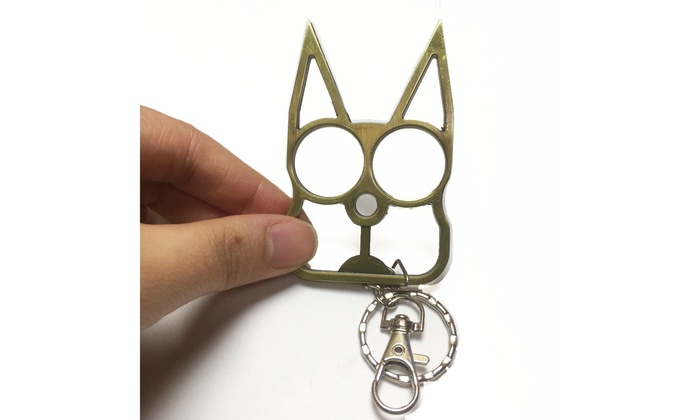 Up To 77 Off On Cat Self Defense Keychains Groupon Goods
