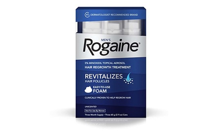 Men's Rogaine Hair Loss & Hair Thinning Treatment Minoxidil Foam 7031da1f-6a91-416f-b736-d734a93ae5db