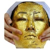 New Edible 4x4cm 30 Sheets Gold Leaf Pure 24K 999/1000 Face Mask