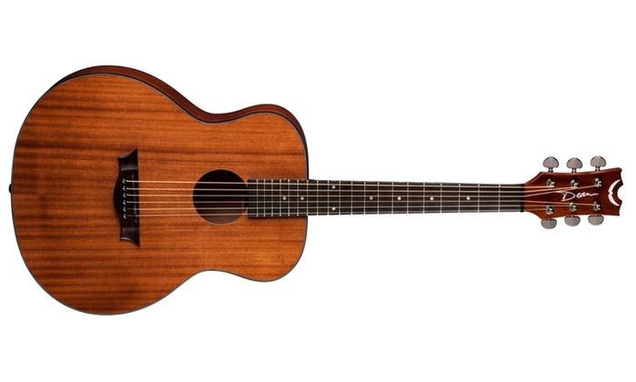 Groupon Goods: Dean AXS Mini Acoustic Guitar - Mahogany
