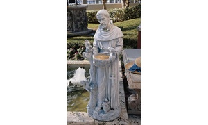 Nature's Nurturer: St. Francis and Blessed Virgin Mary Sculptures