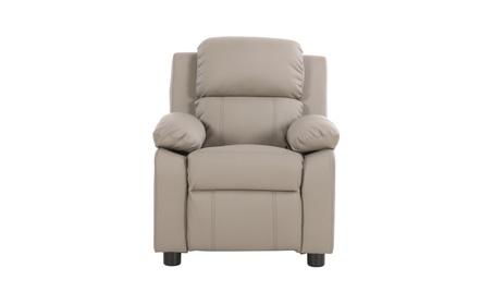 Gray Deluxe Padded Kids Sofa Armchair Recliner Headrest Children e1051bfb-dfb0-400c-9d14-d4c51ecc0744