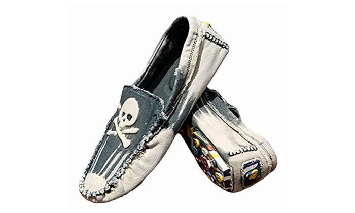 Men's Fashion Canvas Shoes Loafers