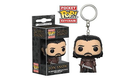 Funko Pop Keychain Game Of Thrones Jon Snow Vinyl Action Figure New In Box d20a117d-97d1-4dcd-9d31-0ab1720baa31