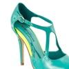 Riverberry Women's 'Janie' Pointed-toe Patent Stilettos, Green