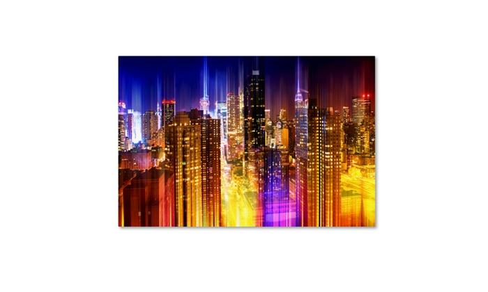 philippe hugonnard urban stretch nyc vii canvas art groupon