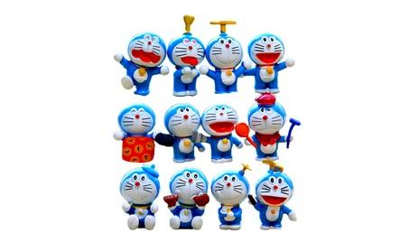 J300 Creative Doraemon 3cm Action Figure Toys Collections Kids Gifts 43e10d51-94da-48dd-b243-6a863df4b2f3