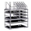 Clear Acrylic Cosmetic Makeup Storage Cube Organizer