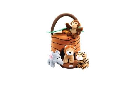 Kleeger Plush Talking Jungle Animals Toy Set (5 Pcs - Plays Sounds) a49560c7-22b5-4f39-85b1-df620be566a0