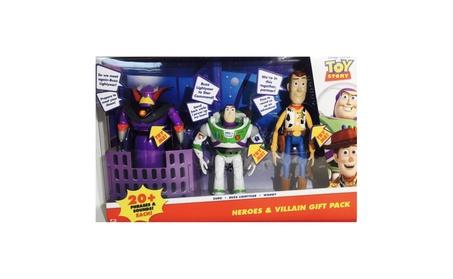 Disney Pixar Toy Story Heroes & Villain Gift Pack, Talking Zurg, Buzz ac635b30-0b5a-4a24-b3fe-3a9887b782b3