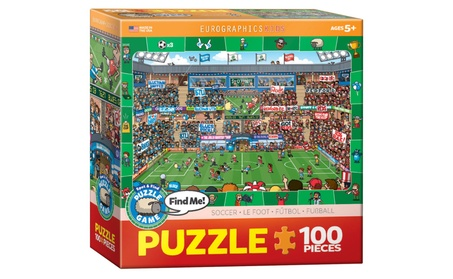 EuroGraphics Puzzles Soccer - Spot & Find 69bb8f99-68b4-4897-a438-56dca16640a9