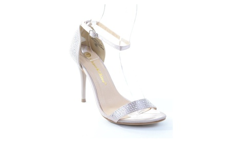 Edward-4 Rhinestone Embellished Open Toe Ankle Strap Sandal Nude 5df156d1-fd4e-4dfd-866a-36922f2fb640