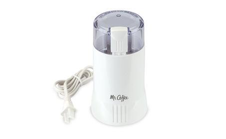 Mr Coffee IDS55-4 Coffee Bean Grinder, White 0abb73e4-4336-44c8-9be1-80abb64b551c