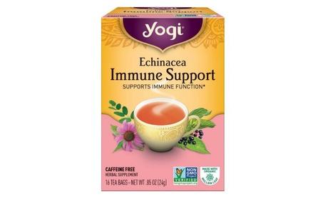 Yogi 27047-3pack Yogi Echinacea Immune Tea - 3x16 bag