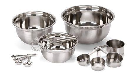 Estilo Stainless Steel Mixing Bowl Set (12-Piece) d9e66c0d-4eb4-4486-9e7b-7052940fcca7
