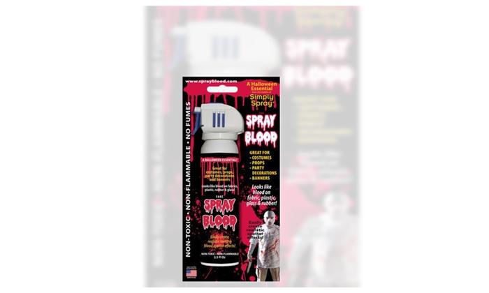Spray Fake Blood 2.5oz Halloween Essentials