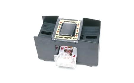 John Hansen 32232 2-Deck Battery Card Shuffler c69c8cf8-da3f-4421-97b9-771655ab0567
