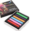 QPower Unisex Quality Non-Toxic  Rainbow Chalk Temporary Hair Coloring