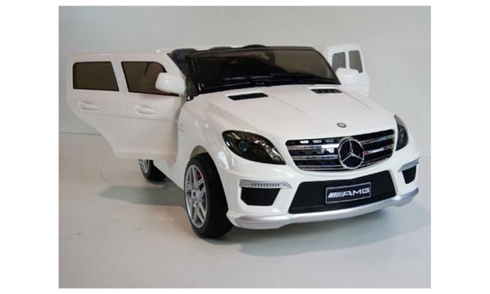Mercedes Power Wheels >> New Licensed 2015 Mercedes Benz Ml63 12v Power Wheels Ride On Car