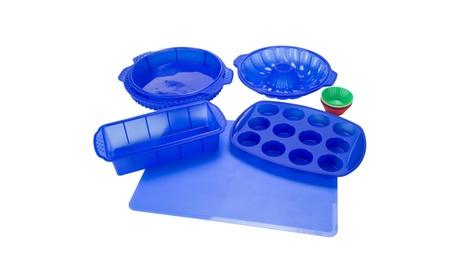Classic Cuisine 18 Piece Silicone Bakeware Set b5f4702b-cbe0-4f86-8387-611a105a8d52