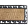 Geometric Border Welcome Doormat Entry Mat